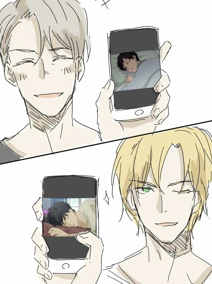 Banana Fish & Yuri on ice | YURI ON ICE | Pinterest | Anime, Yuri y ...