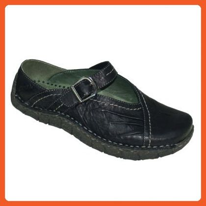 56bef579bc609 Kalso Earth Shoe Women's Link Casual Shoes,Black Rhino Leather,5.5 M ...
