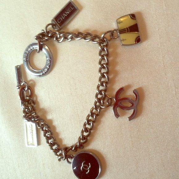 Knock Off Silver Chanel Charm Bracelet Has Been Kept In Storage Jewelry Bracelets