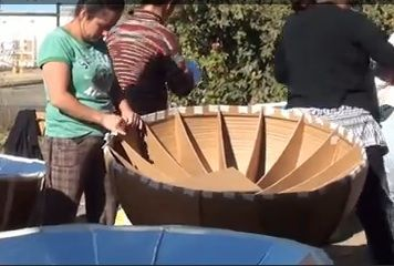 Recycled Cardboard Parabolic Cooker Solar Cooker Solar