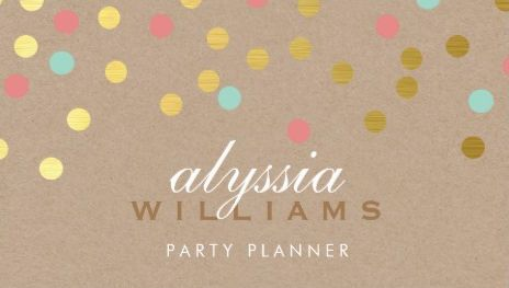 82 Best Girly Event Planning Business Cards Images Event Planning