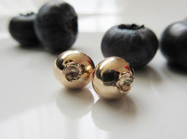 Blueberry Earrings by Health_Nut