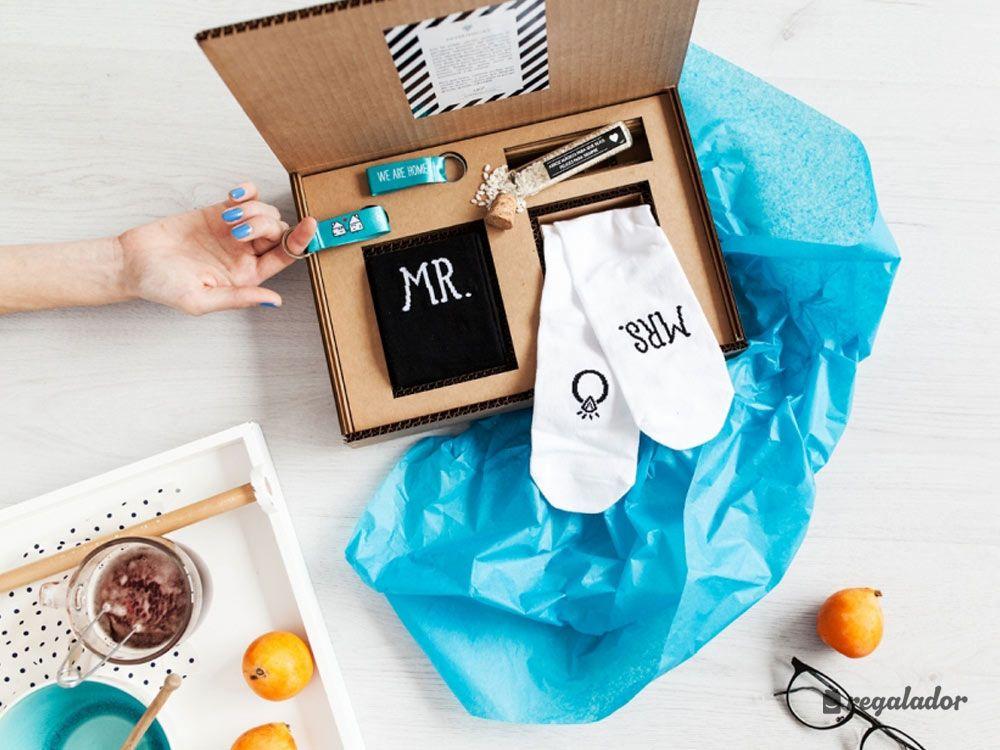 Kit de calcetines para reci n casados regalos originales - Sorpresas para recien casados ...