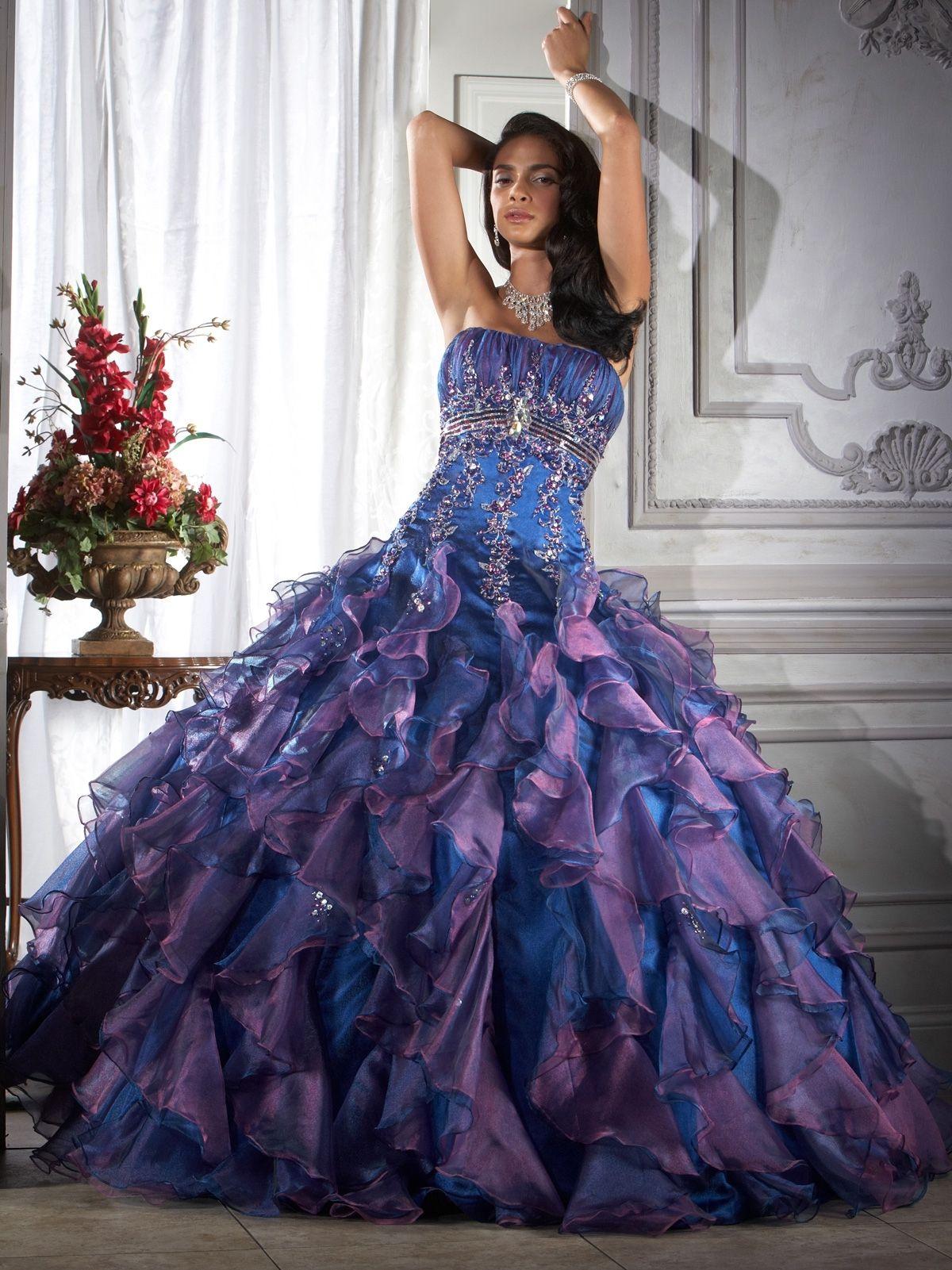 30+ Tie dye wedding dress blue information