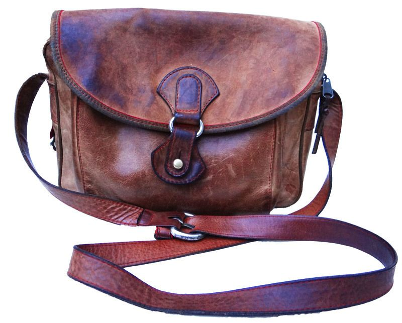 sac en cuir naturel bout de bras bags vintage leather et leather bag