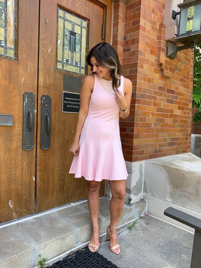The Prettiest Pink Dress For A Wedding Guest Justpostedblog Shopstyle Shopthelook Myshopstyle Ootd Lookschallen Affordable Dresses Dresses Summer Dresses [ 1080 x 810 Pixel ]