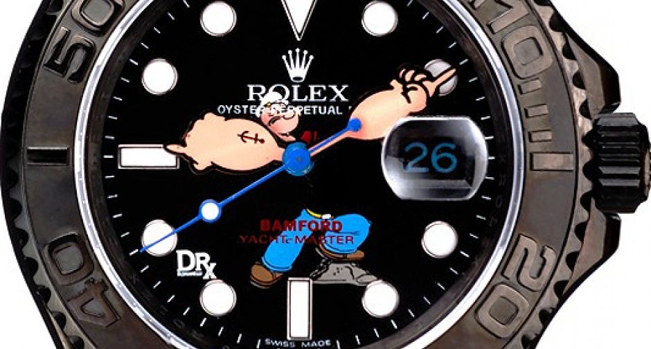 Popeye and Beetle Bailey Bamford Watches: Cartoon time | Classic Driver Magazine