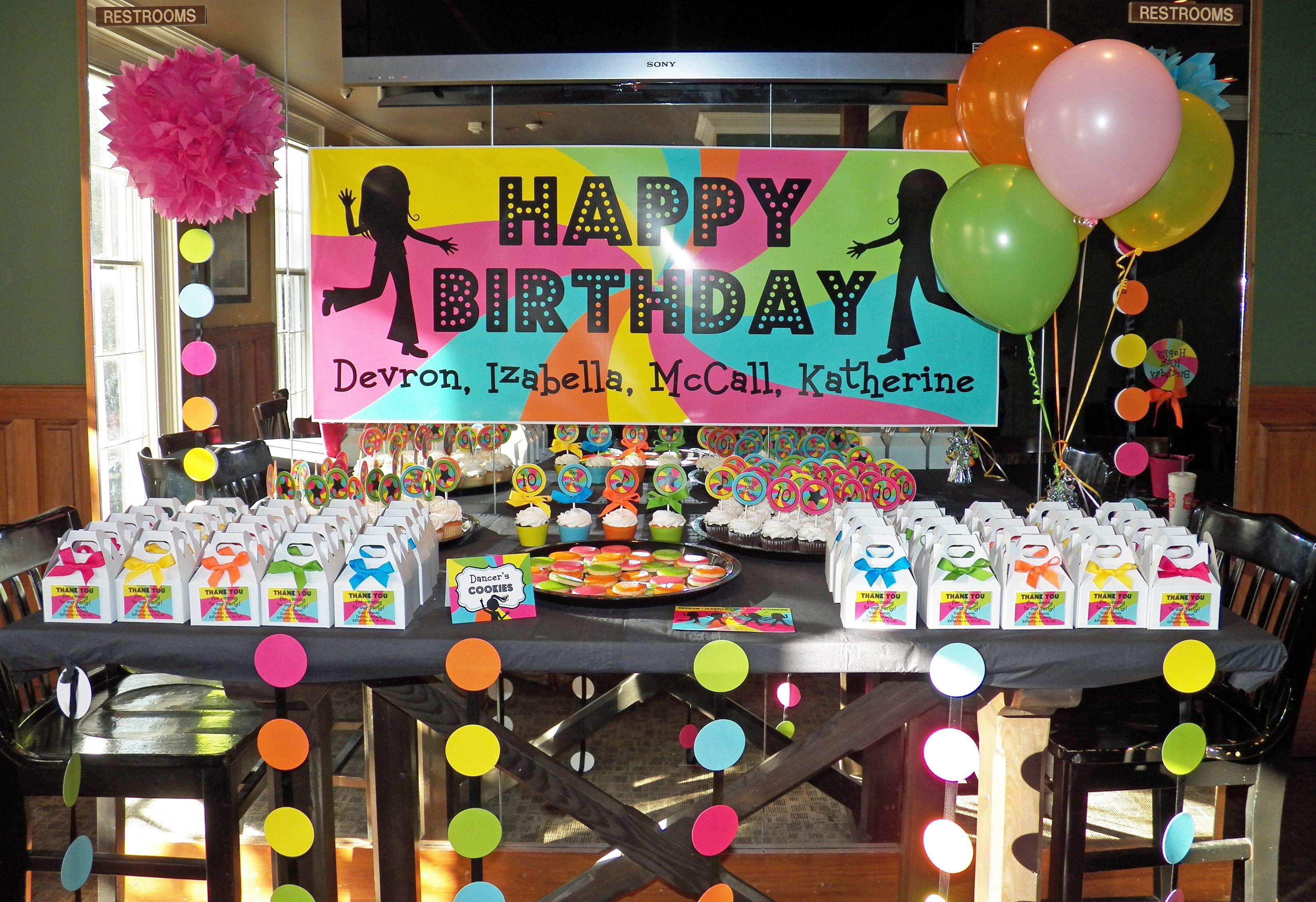 Disco Theme Party Decoration Ideas Part - 30: Birthday Party Ideas