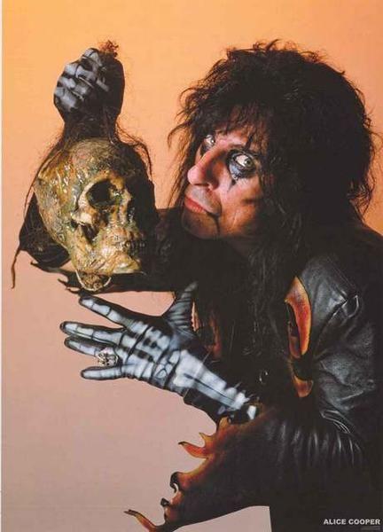 Alice Cooper Portrait Poster 24x33 | Classic Rock Music ...