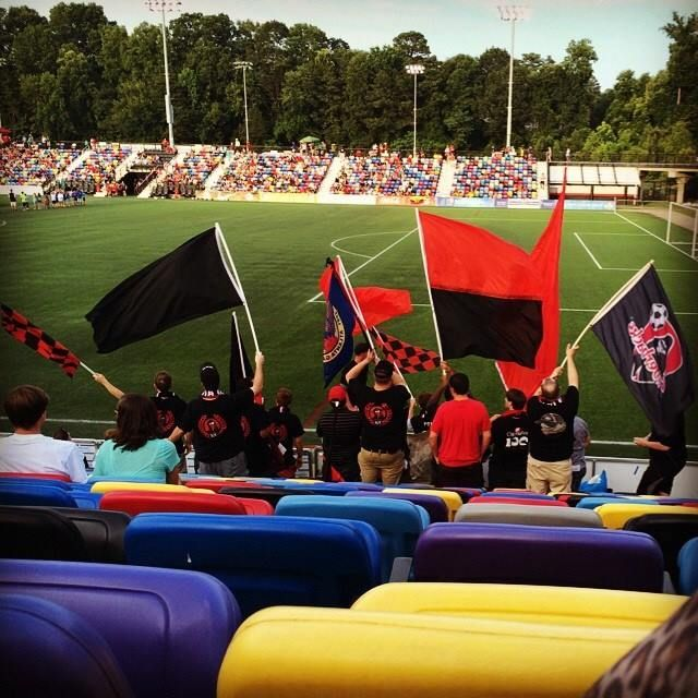 Atlanta Ultras Atlanta Silverbacks Fc Nasl D2 During Us Open Cup Cred Lady Dovahkiin 2014 Prior North American Football Supporter Culture Atlan