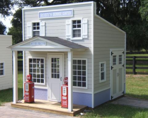 Service Station Playhouse
