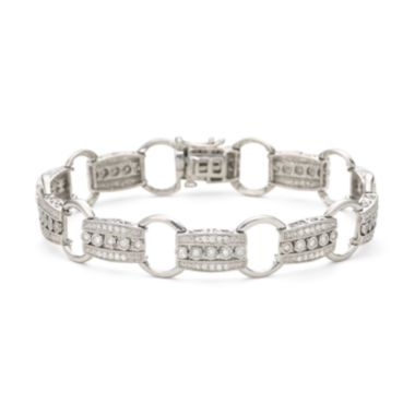 1 CT. T.W. Diamond Sterling Silver Bracelet  found at @JCPenney
