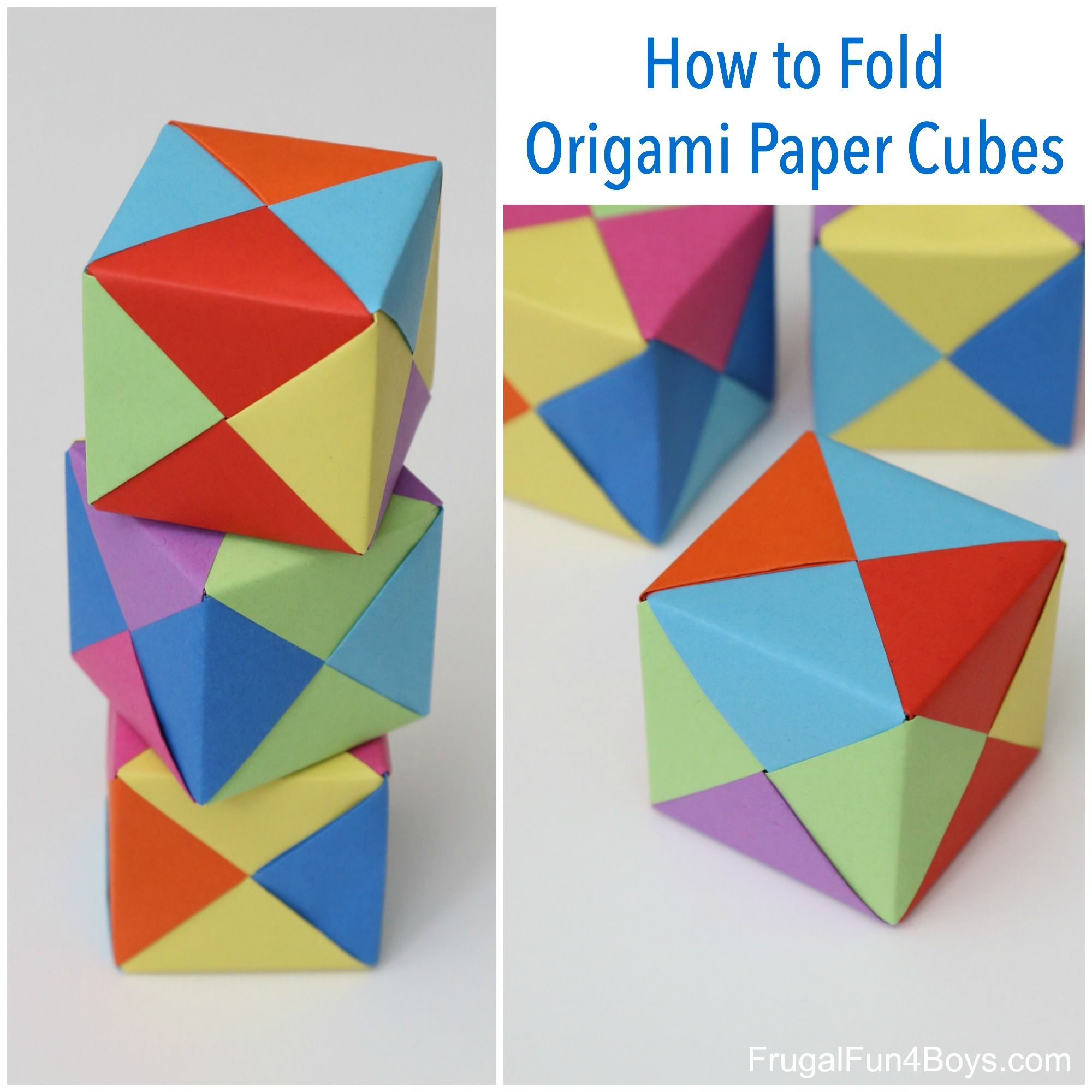 Origami Waterbomb Diagram | Origami instructions dragon, Printable ... | 2000x2000
