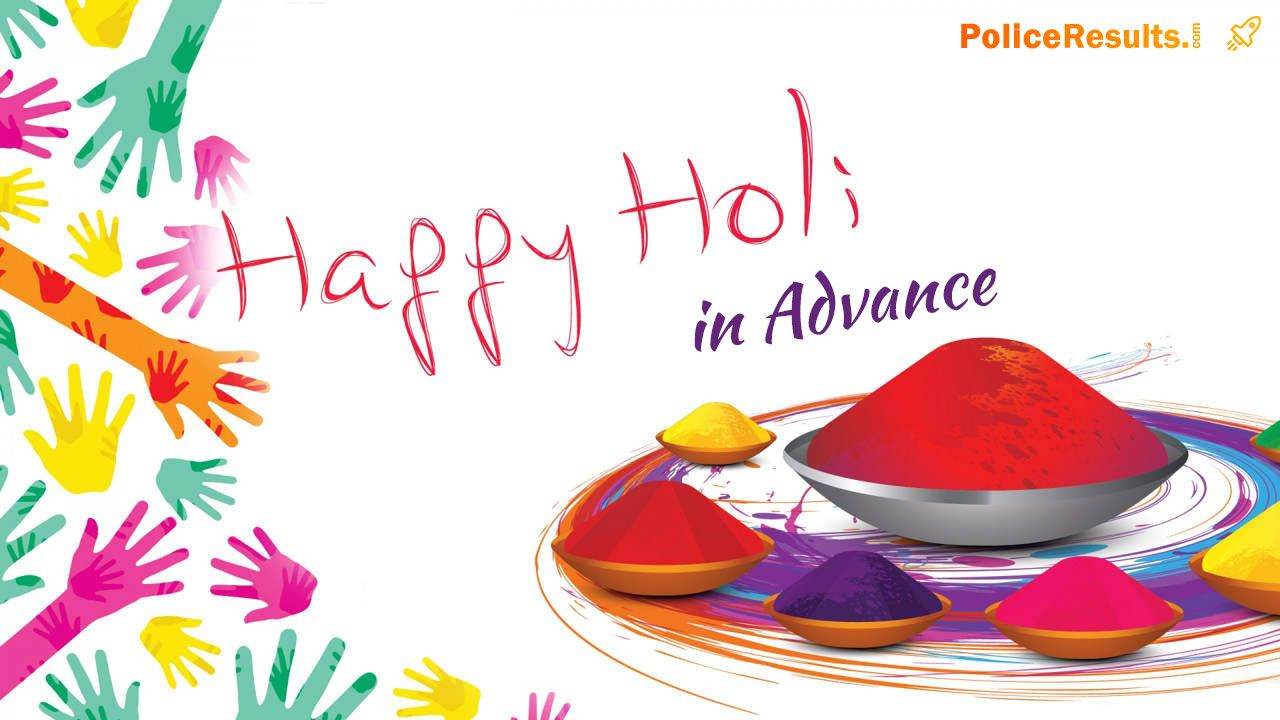 Happy Holi in Advance 2020 Advance Holi Wishes SMS