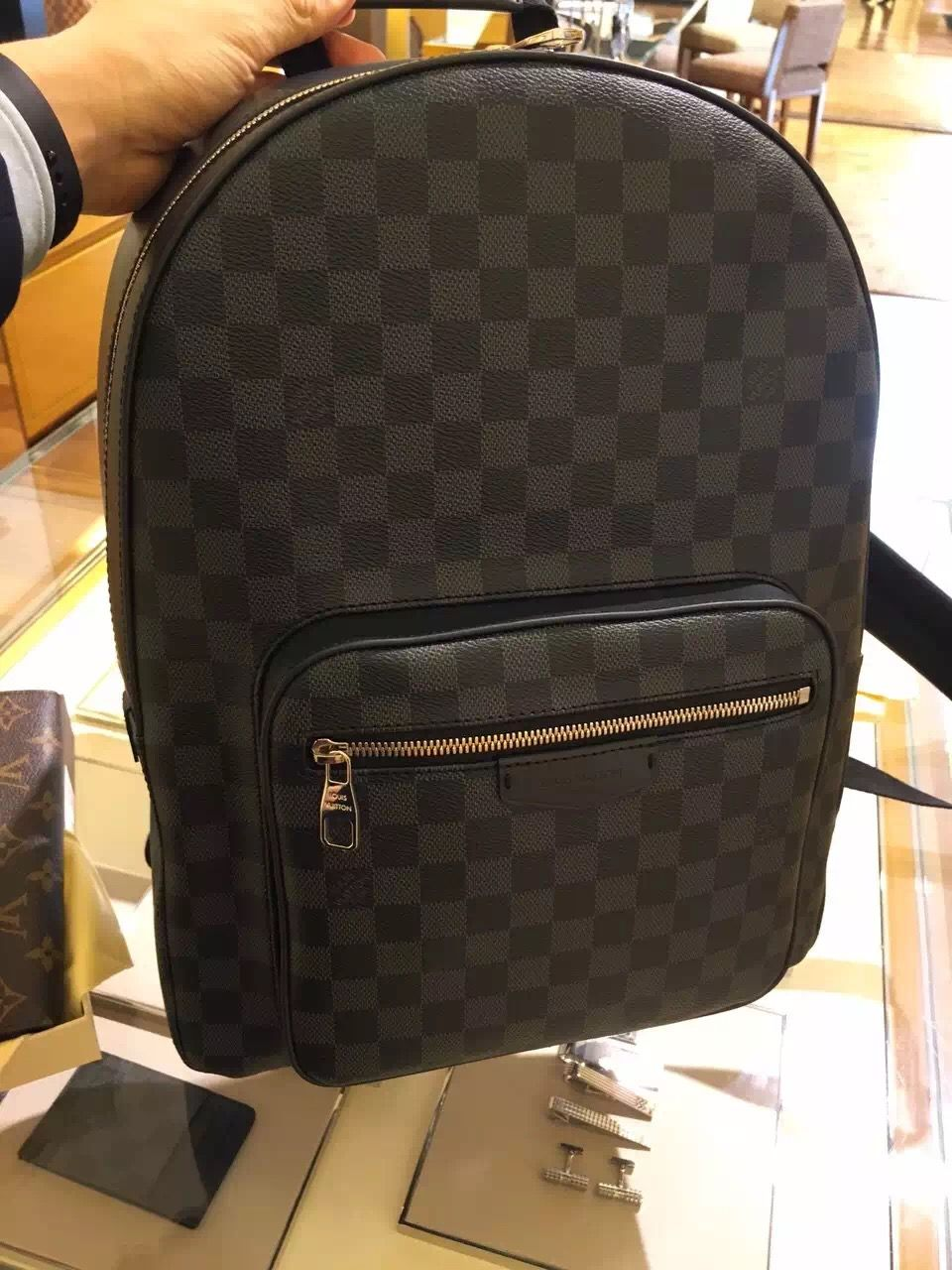 Louis Vuitton Daimer Canvas Josh BackPack N41473   Louis Vuitton ... 61abfeb972
