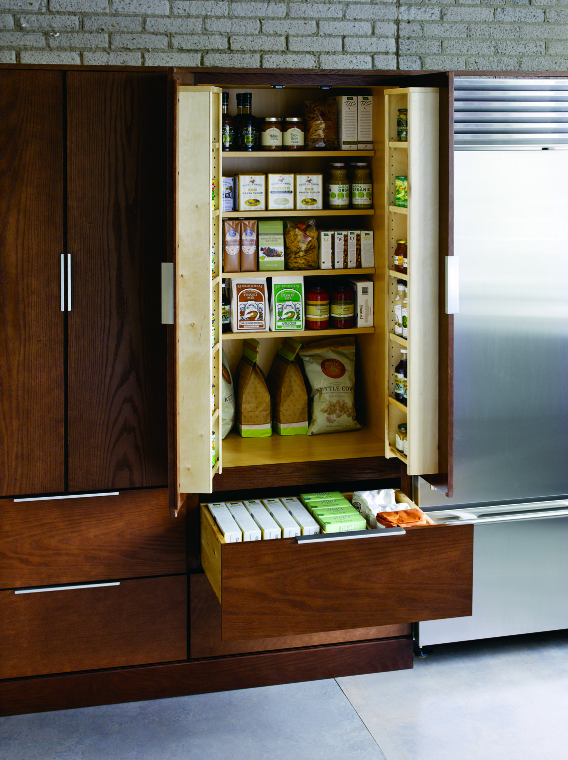 There's always space to add a pantry!
