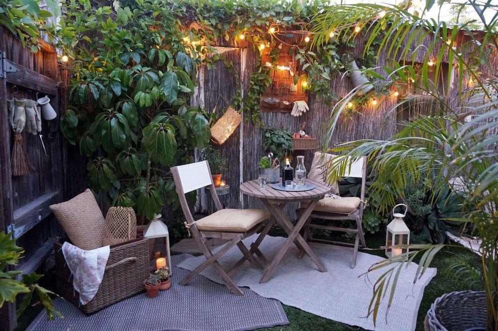 Small Garden Ideas For Tiny Outdoor Spaces Summer 2018 ...