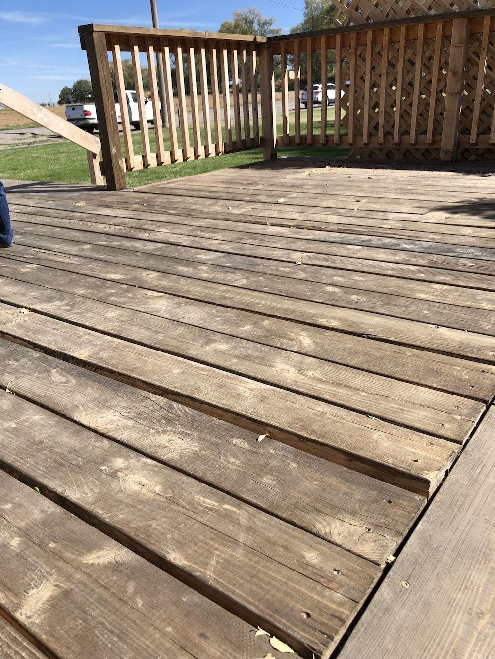 deck wood repair restain prep wooden decks diy chrislovesjulia stain boards warped staining flooring business snow floor pergola remove outdoor