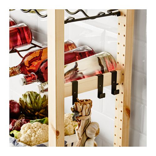 IVAR Hook for side unit, gray Kitchen dining, Pantry and Dining - ikea küchen angebote
