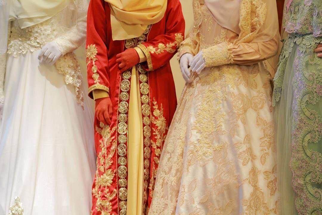 Beberapa Koleksi gaun pengantin D\u002639;walimah wedding organizer pernikahan Islami. walimahsyari