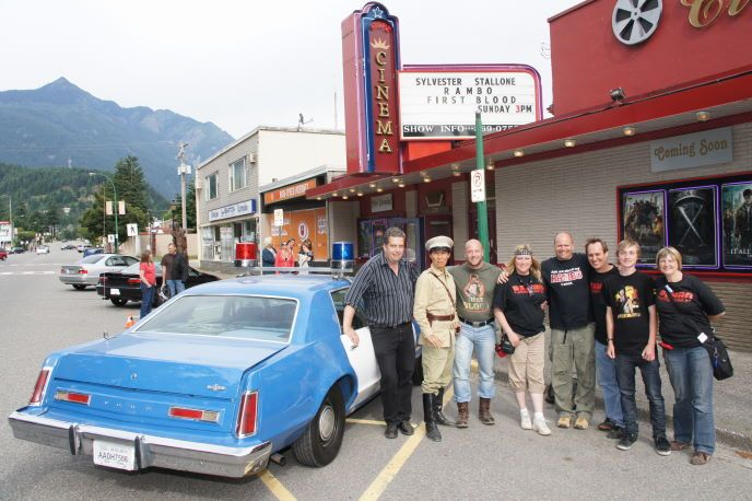 Life For Mile Actor Stephen Chang Movie Fans At Hope Cinema Rambo Bridge Final Take In Hope Bc Bid An Emotional Farewel New Movies Cinema Small Town America