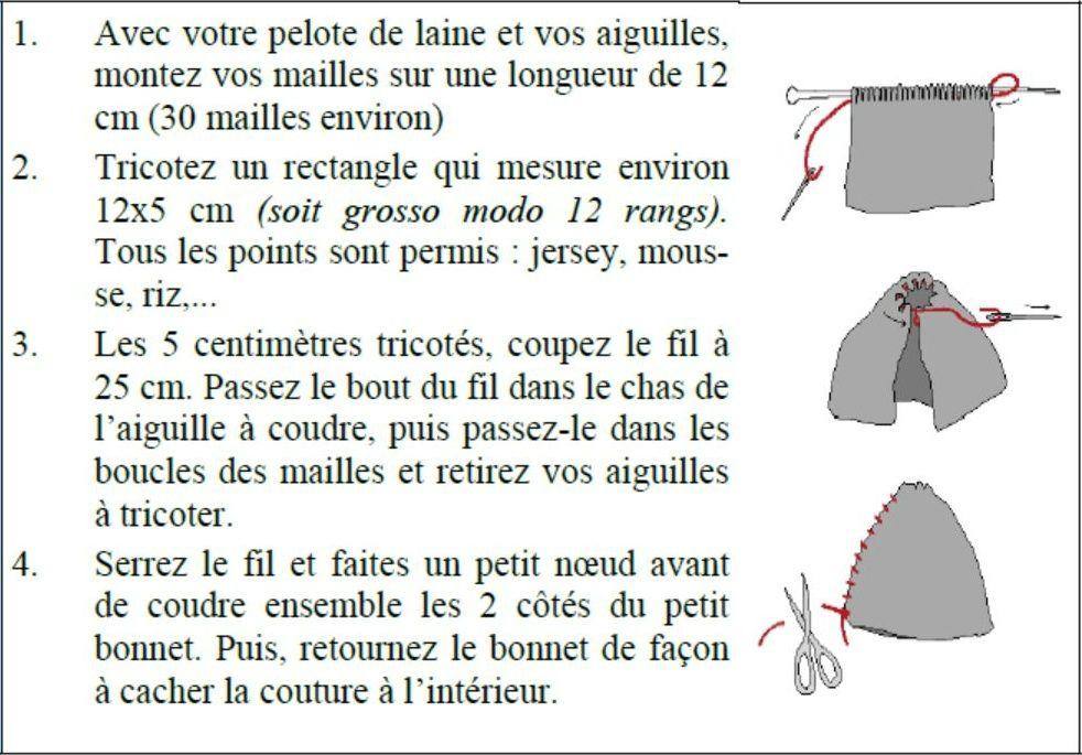 comment tricoter un bonnet   Tricot   accessoires   Tricot, Tuto ... c8fe331769f