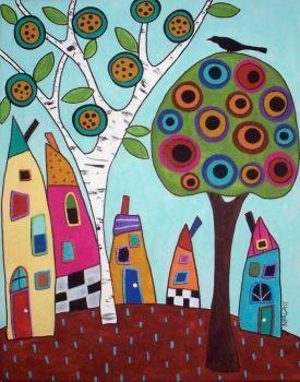 Karla Gerard houses (63 pieces)