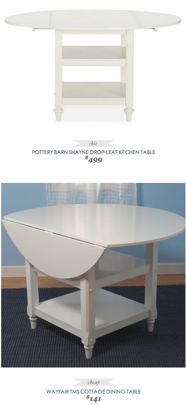 Pottery Barn Kitchen Furniture Pottery Barn Shayne Drop Leaf Kitchen Table 499 Vs Wayfair