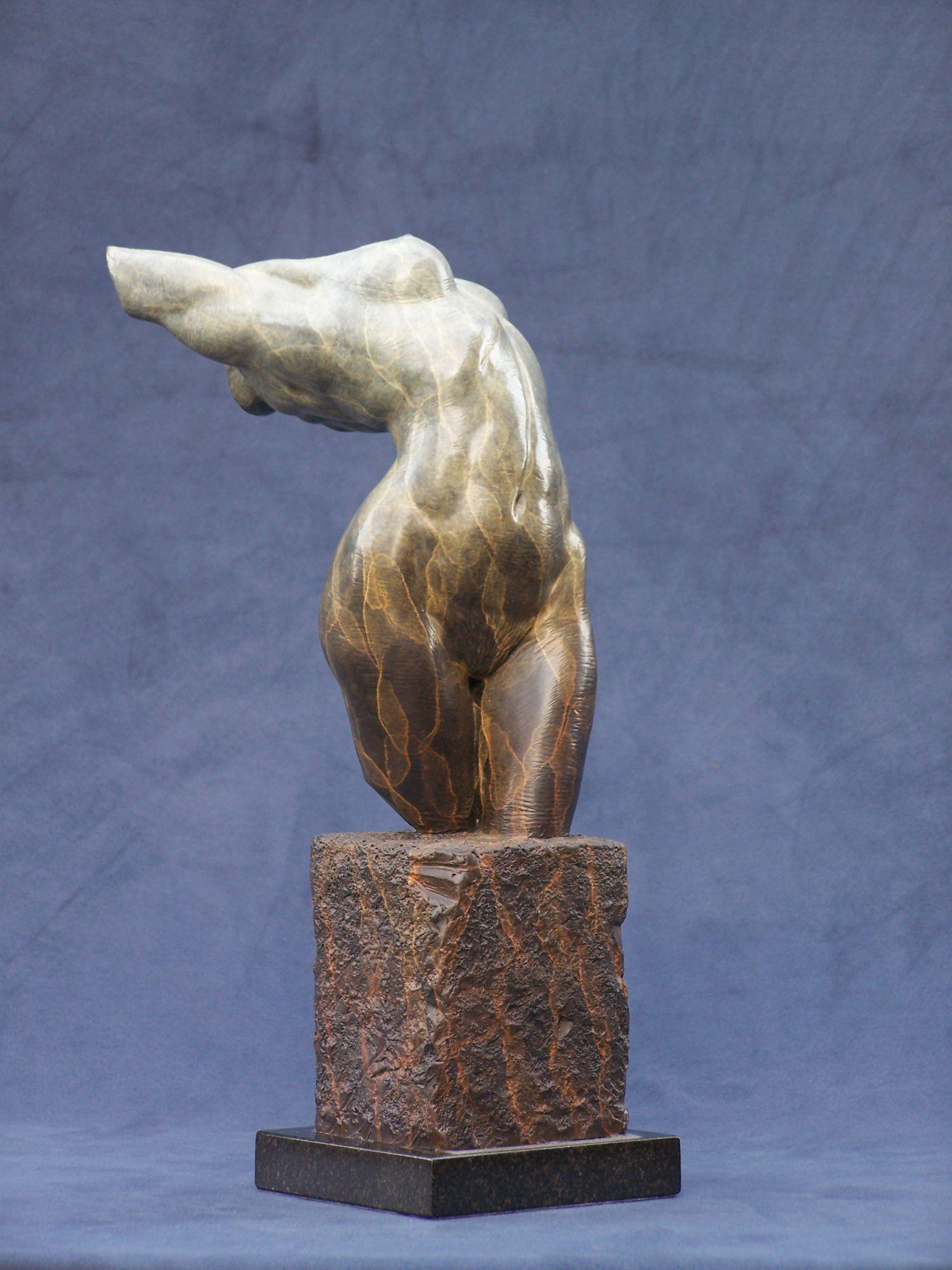Female nude torso fragment sculptures carving inspiration