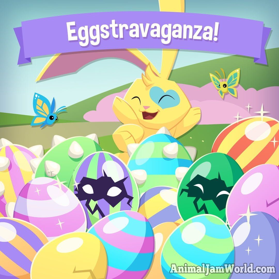Animal Jam Eggstravaganza Pets Animal Jam World Animal Jam