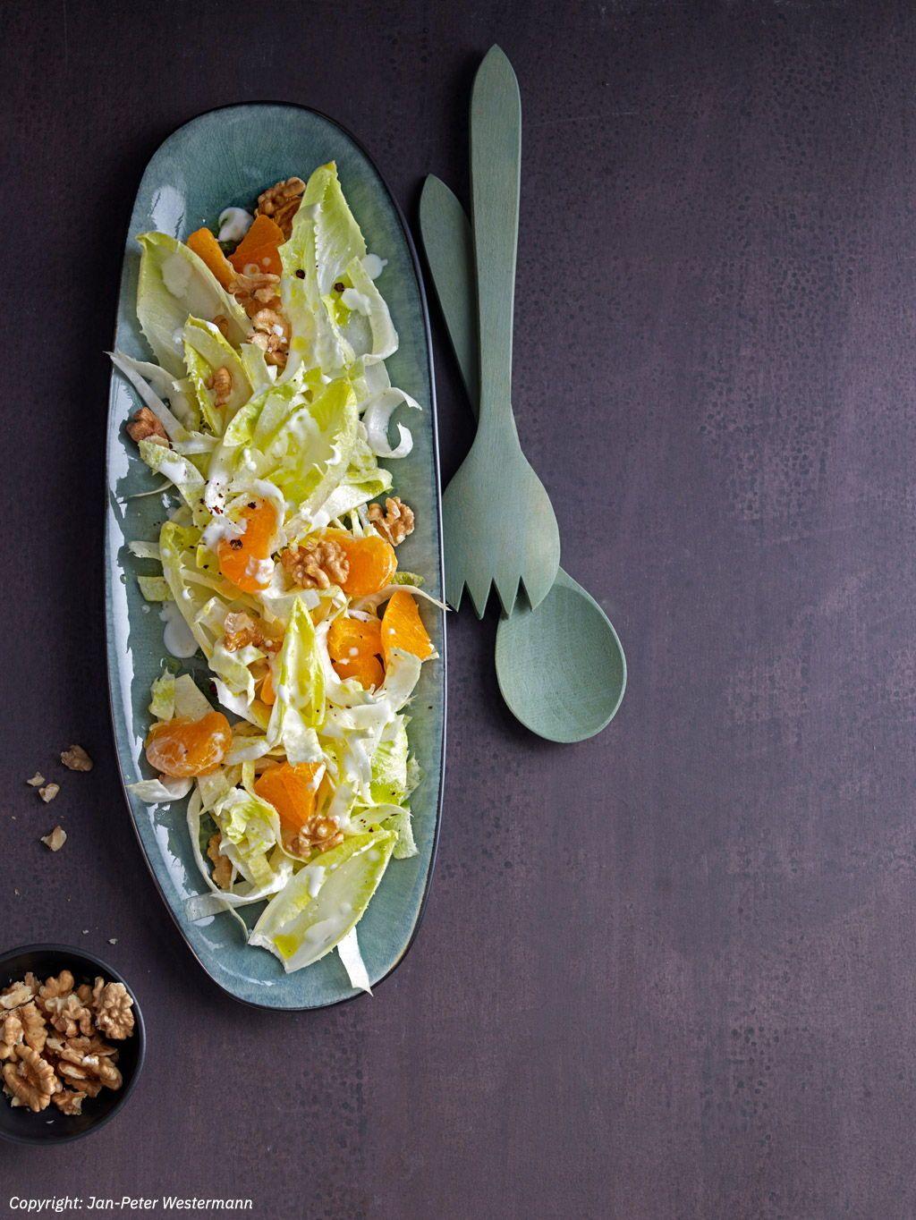 Chicoree-Nuss-Salat #applecrisp