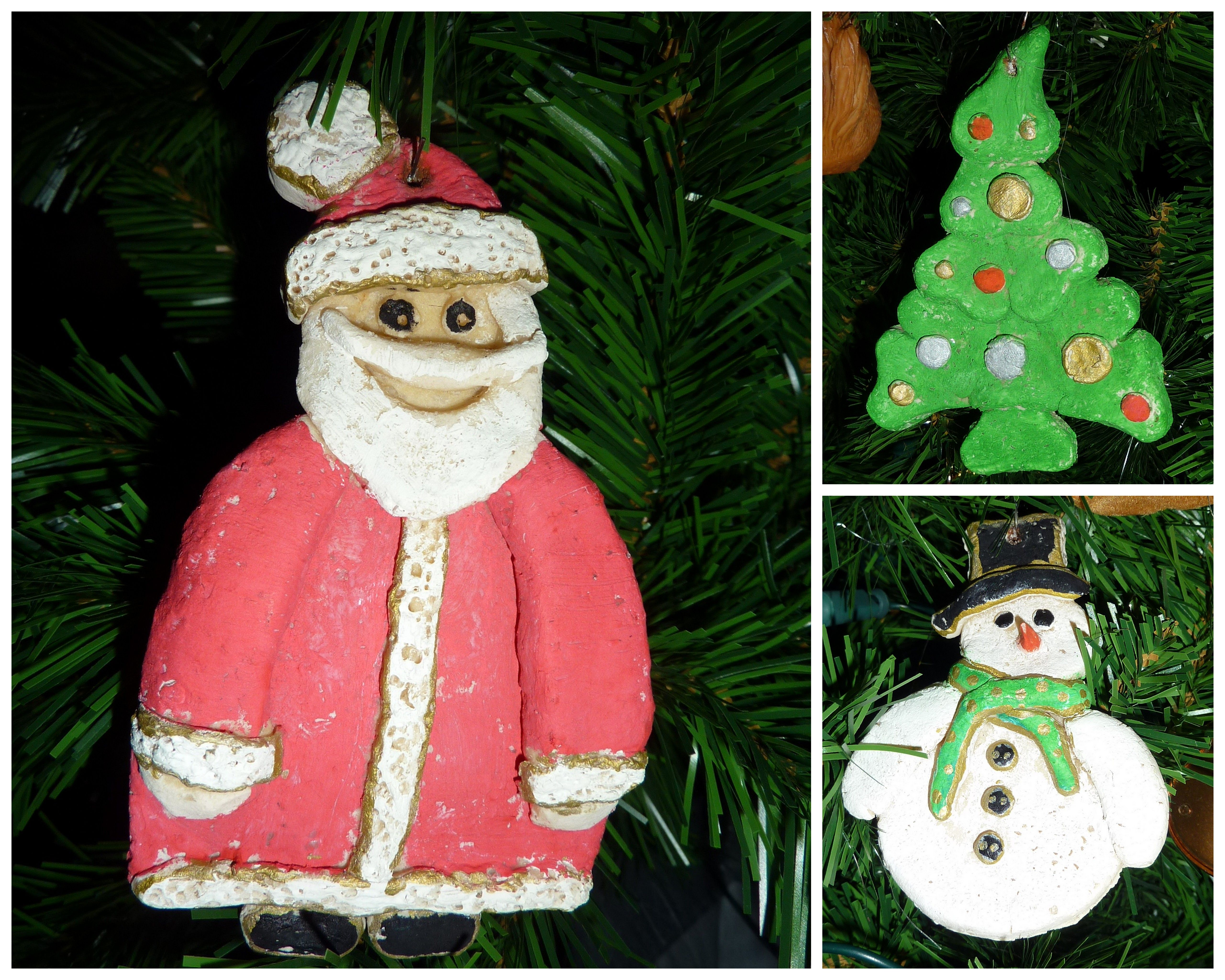 made of bread dough | Christmas crafts, Crafts, Christmas ...