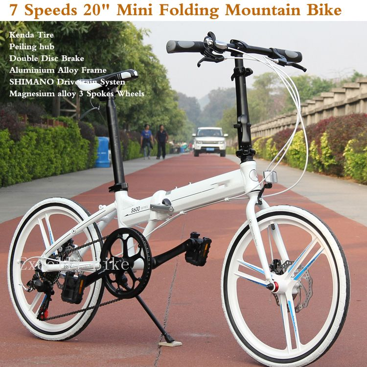 7 Speeds 20 Folding Bike 3 32 Spokes Wheels Mini Bicicleta