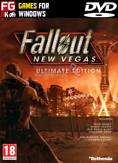 Descargar Fallout New Vegas Ultimate Edition Mega Mediafire Utorrent Full Games 0k Fallout New Vegas Vegas Fun Detroit Become Human Ps4
