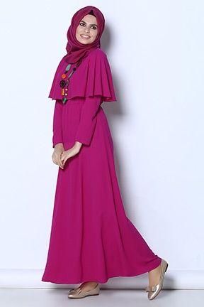 Tesettur Elbise Musluman Modasi Elbise Islami Moda