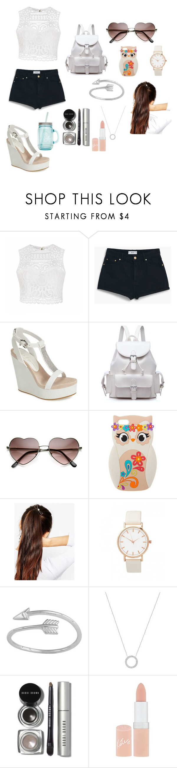 """Untitled #48"" by menna121 ❤ liked on Polyvore featuring Ally Fashion, MANGO, Lola Cruz, ASOS, Midsummer Star, Michael Kors, Bobbi Brown Cosmetics, Rimmel, ALADDIN and Mennasfashion"