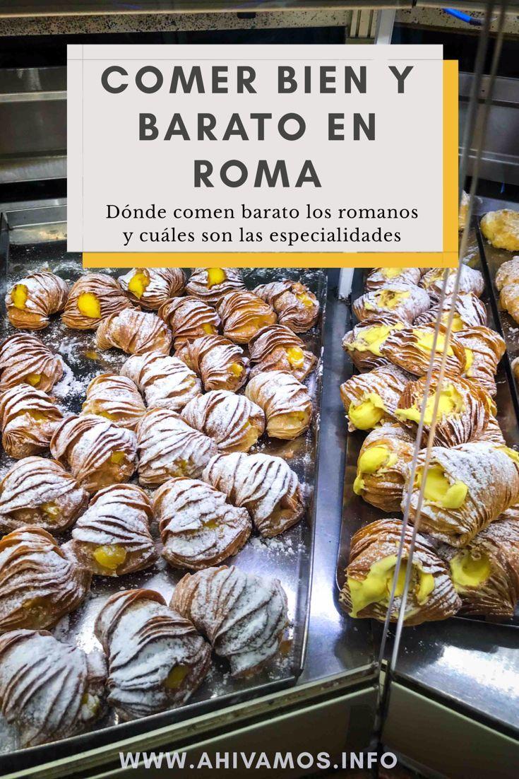 Dónde Comer Bien Y Barato En Roma Ahí Vamos Blog De Viajes Roma Viajes Viajar A Italia