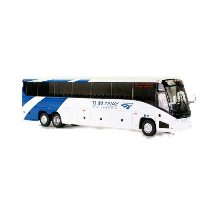 Iconic Replicas HO 87-0112 MCI J4500 Motorcoach, Amtrak Thruway
