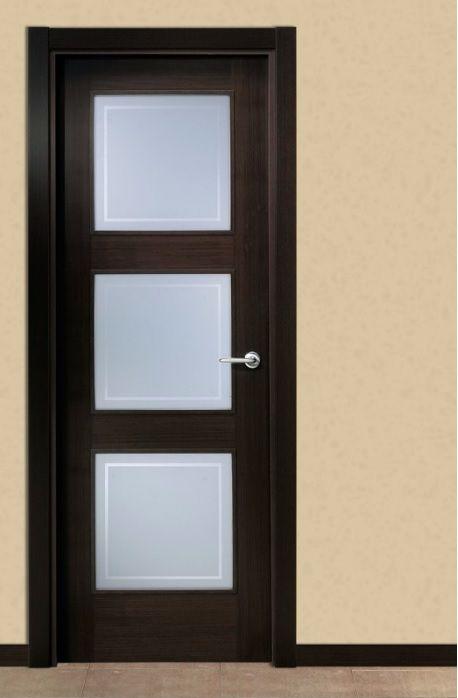 Modelo r 03 3v weng uniarte colecci n de puertas de - Modelo de puertas de madera ...