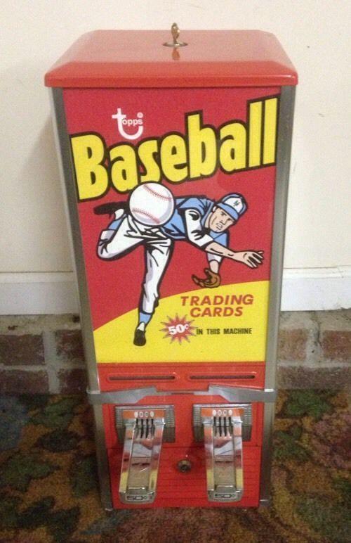 Home Run Baseball Bubble Gum /'60s Vending Machine Card Photocopies