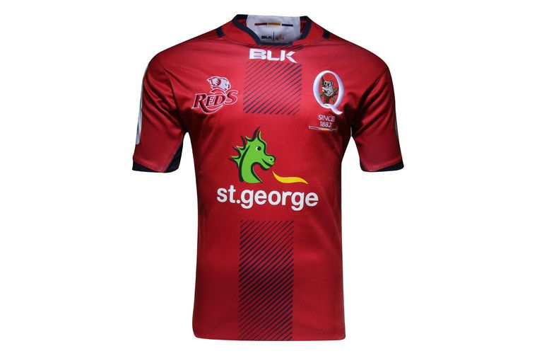 Queensland Reds 2016 Super Rugby Home Replica Shirt