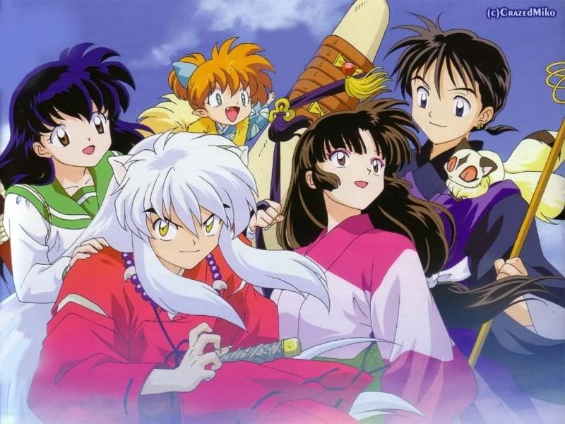 AnimeInuyasha GenreActionAdventureRomanceComedyFantasy StoryKagome Goes Into Her Familys Well House To Retrieve Cat When A Demon Comes Out Of