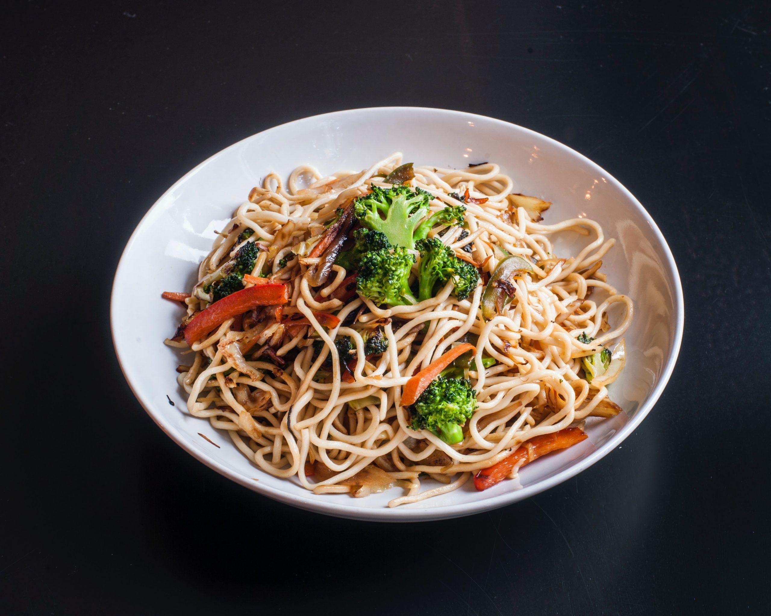 Indian Chinese Recipe Hakka Noodles Stir Fried Tofu Social Nupur