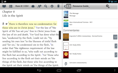 The Bible Study App for Android Tablet JEREMIAH 2911