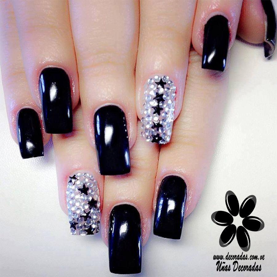 Hoy hablamos específicamente de uñas decoradas largas y con ...