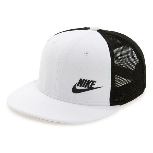 d071026447a Nike  Tech Pack  Trucker Hat (23.655 CLP) ❤ liked on Polyvore featuring  men s fashion