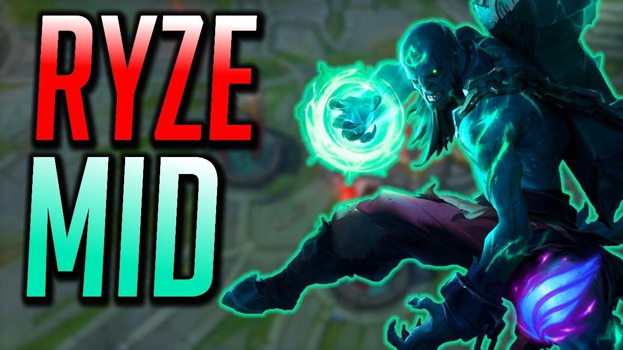 Ryze Mid Gameplay - 8 18 League Of Legends Clown Fiesta