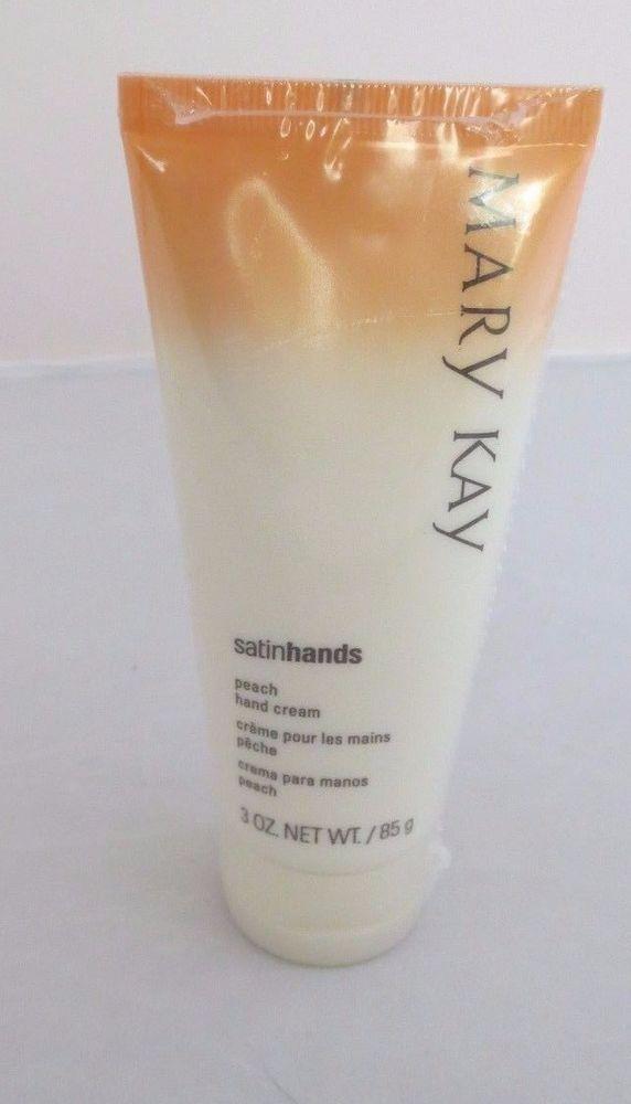 Mary Kay Peach Satin Hands Hand Cream