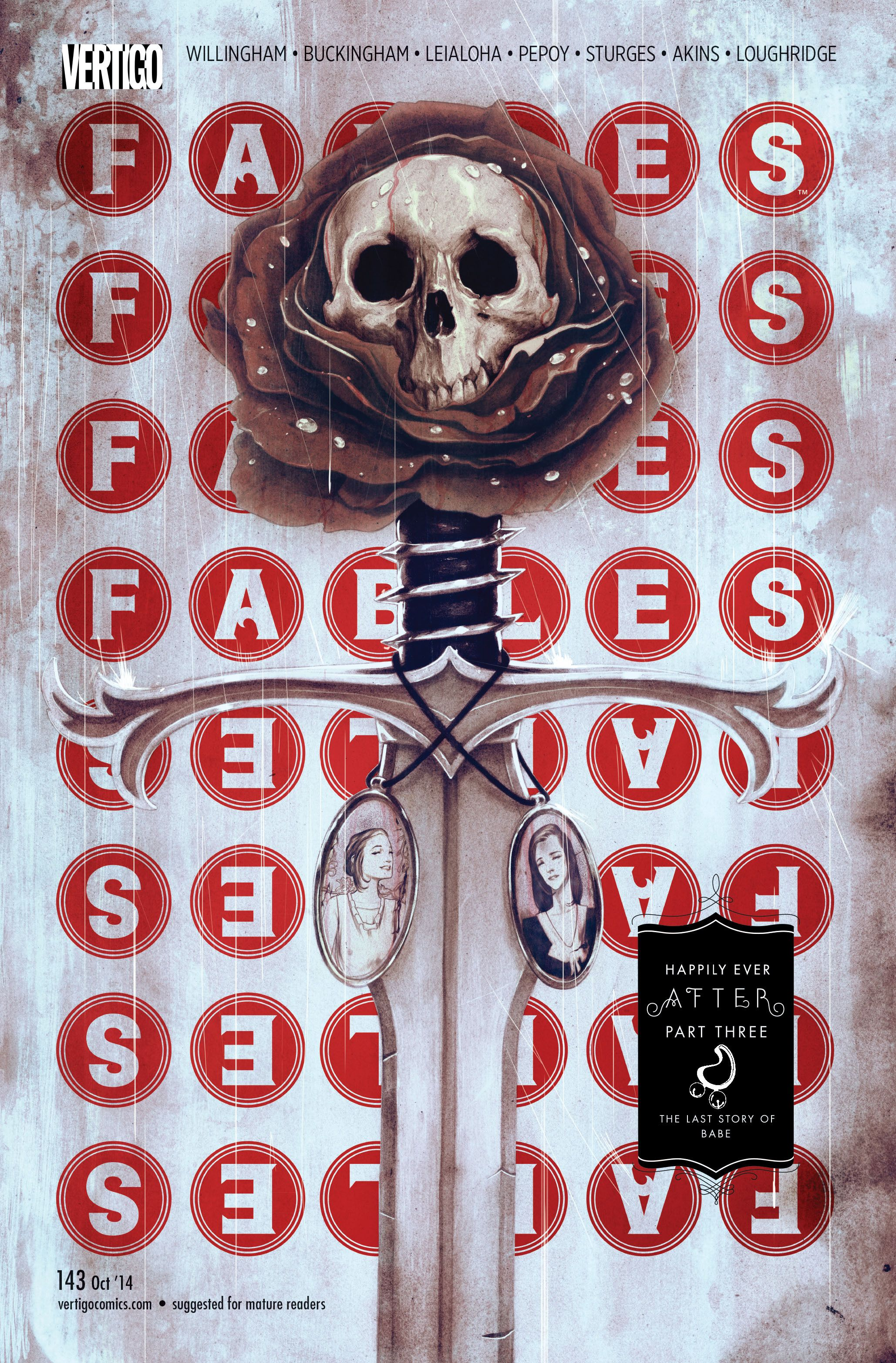 Fables Cover 143 by James Jean © Fables comic, Fables