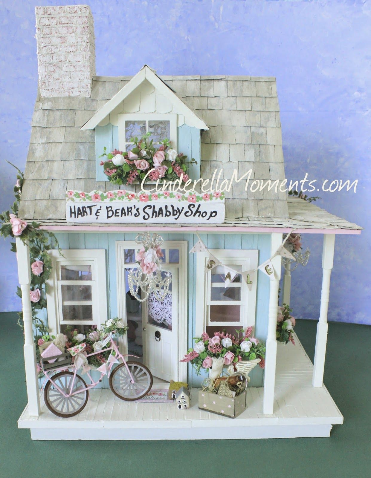 Miniatur Haus Selber Bauen Hart And Bear 39s Shabby Shop Made Entirely By Hand By
